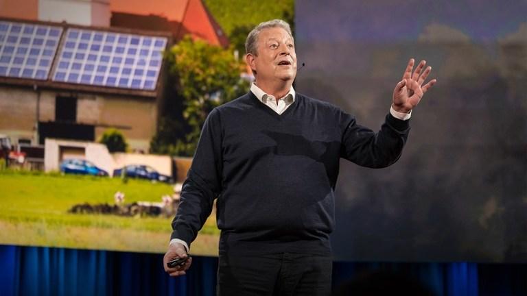Альберт Гор: Повод для оптимизма в связи с изменением климата.