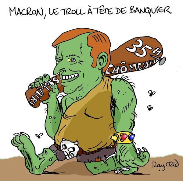 Content emmanuel macron caricature troll rayclid