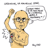 Small cazeneuve bakchich caricature rayclid
