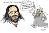 Small demis roussos caricature rayclid bakchich