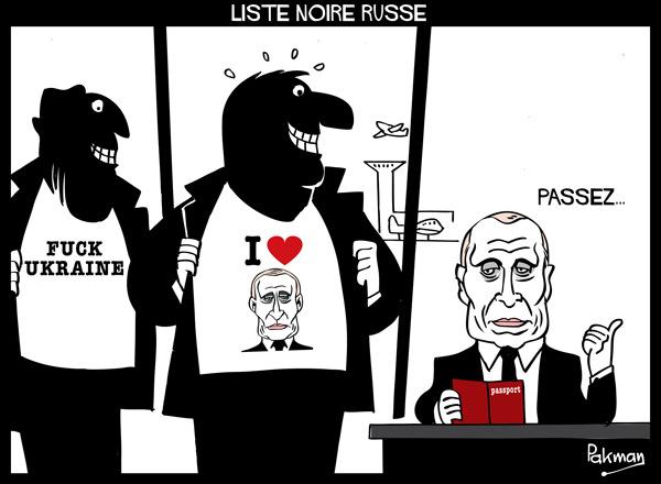 Content liste noire russe