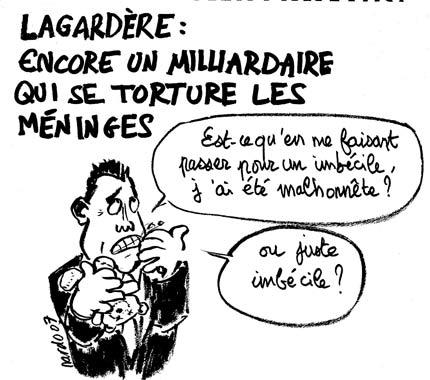 Les méninges de Lagardère