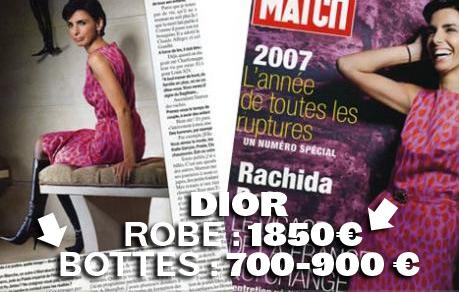 Rachida en Dior - JPG - 61.5ko