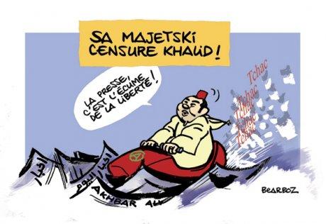 Sa majetski le roi du Maroc - JPG - 150ko