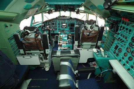 Dans un Tupolev 154 - JPG - 168.5ko