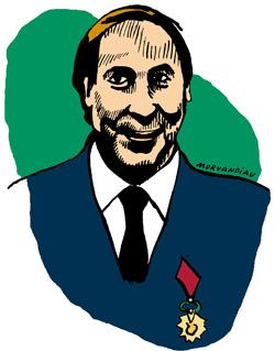 Jacques-Marie Bourget a croisé le chemin d'une balle israélienne