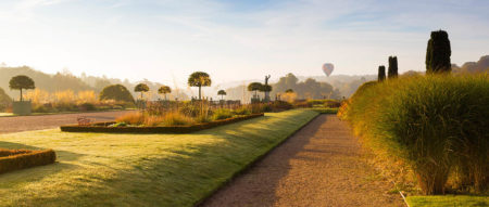 Hot Air Balloon over Trentham Gardens by Joe Wainwright
