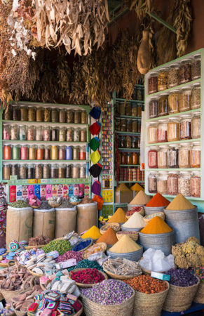 Herbs and Spices in the Souk by Stephen Studd
