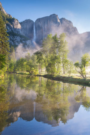 Yosemite Falls by Adam Burton