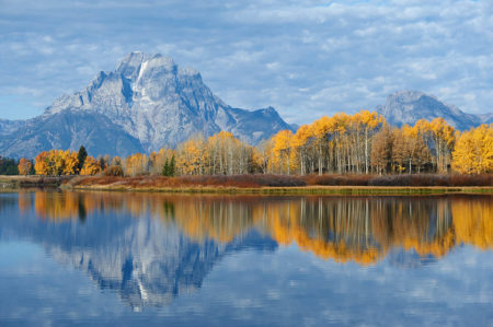 Autumn in Yellowstone by Victor Kanunnikov