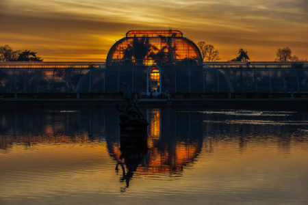 Sunset Kew by Paul Bate