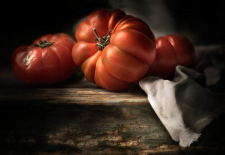 Red Tomatoes by Flavio Catalano