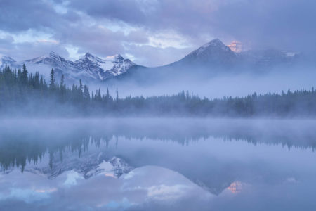 Misty Blue Morning by Adam Burton