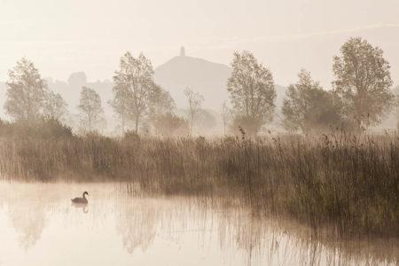 Mystic Glastonbury Tor by Esen Tunar