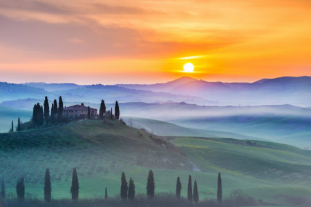 Tuscany Sunrise by Stefano Coltelli