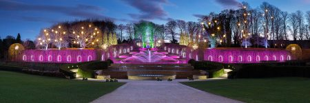 Alnwick Illuminations by Geoff Kell