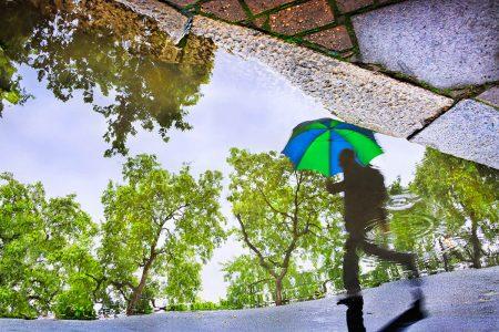 Rainy Streets by Vanda Ralevska