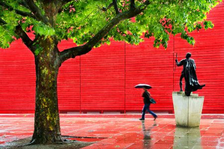 Rainy Day on the Southbank by Vanda Ralevska