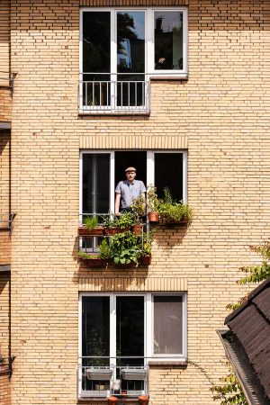 Balcony Garden by Andreas Lauermann