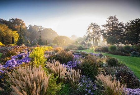 Bressingham Gardens in Autumn by Richard Bloom