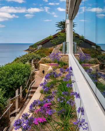 Cliff Garden Reflection by Nigel McCall