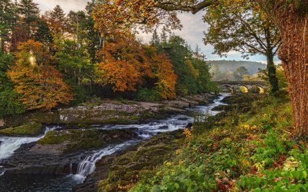 Sheen Falls Sunrise by Nigel McCall