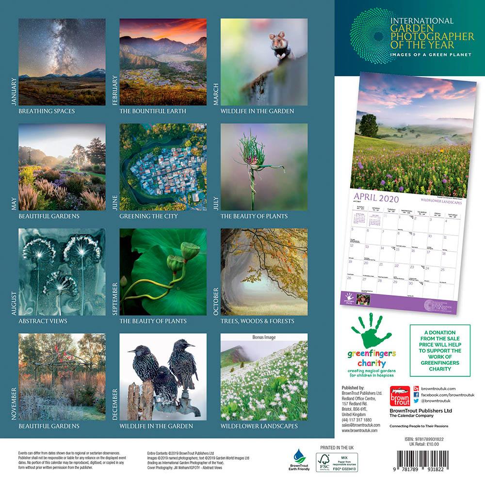 IGPOTY/Greenfingers Charity Calendar (2020)