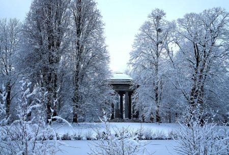 Leibniz Temple in Winter by Herle Catharina Saathoff