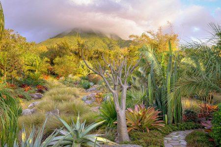 Nevis Peak Volcano by Stephen Dunn
