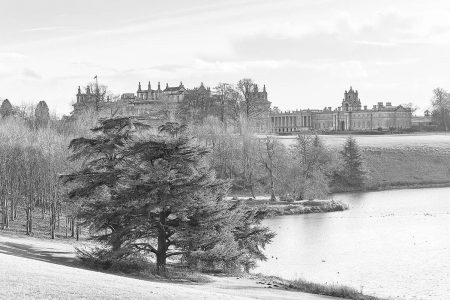 Blenheim Palace in High Key by Lindsey Willetts