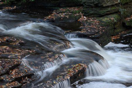 Tin Mill Weir by Ernest Walker