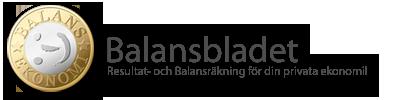 Balansbladet - verktyget för din privata ekonomi - Logotype