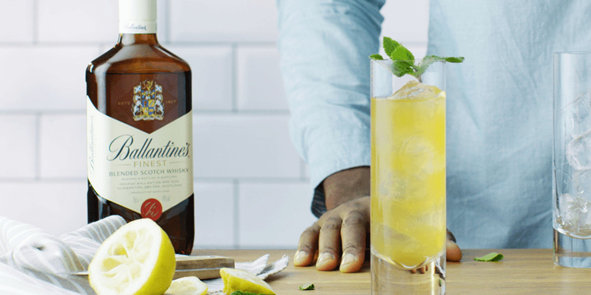 Make your Julep Punch cocktail