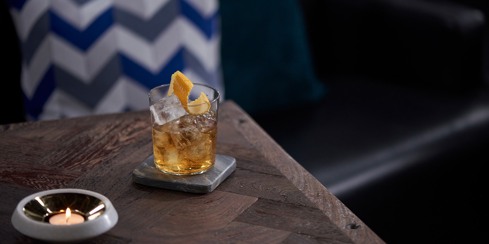 Ballantine's 12 Maple Fashioned