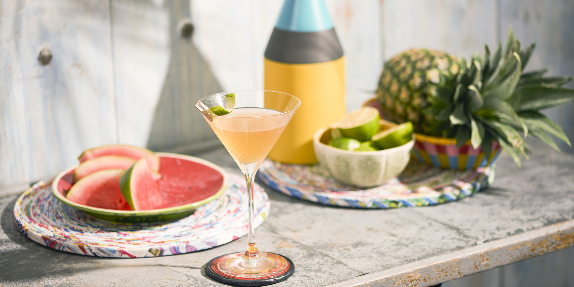 Whisky Cocktails | Flower O' Brasil | Summer