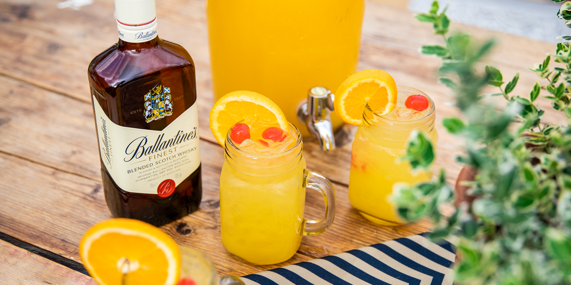 Whisky Cocktails | Whisky Sour Punch | Fruity | Ballantine's