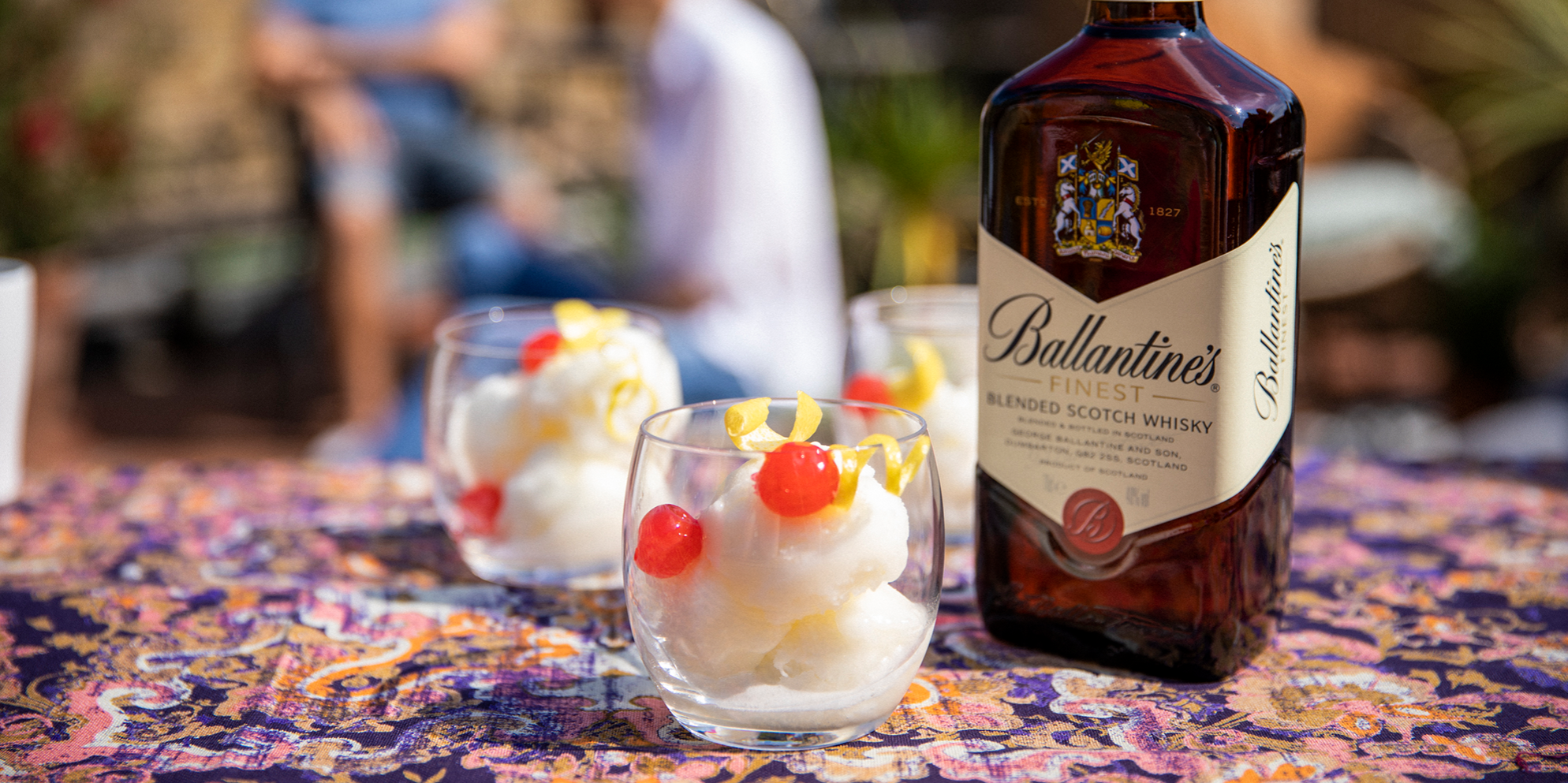 Whisky Cocktails | Lipsmacker Sorbet | Sweet treat | Ballantine's