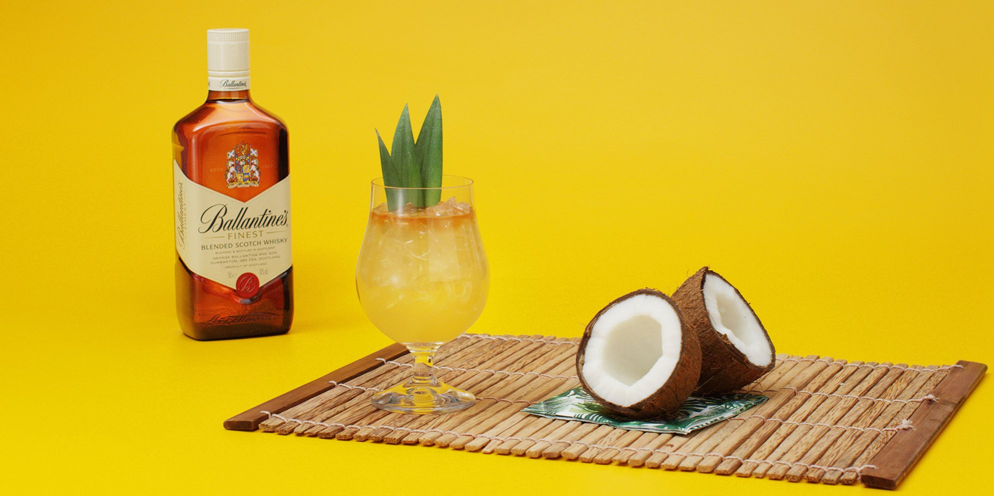 Whisky Cocktails | Coconut Delight | Tropical | Ballantine's