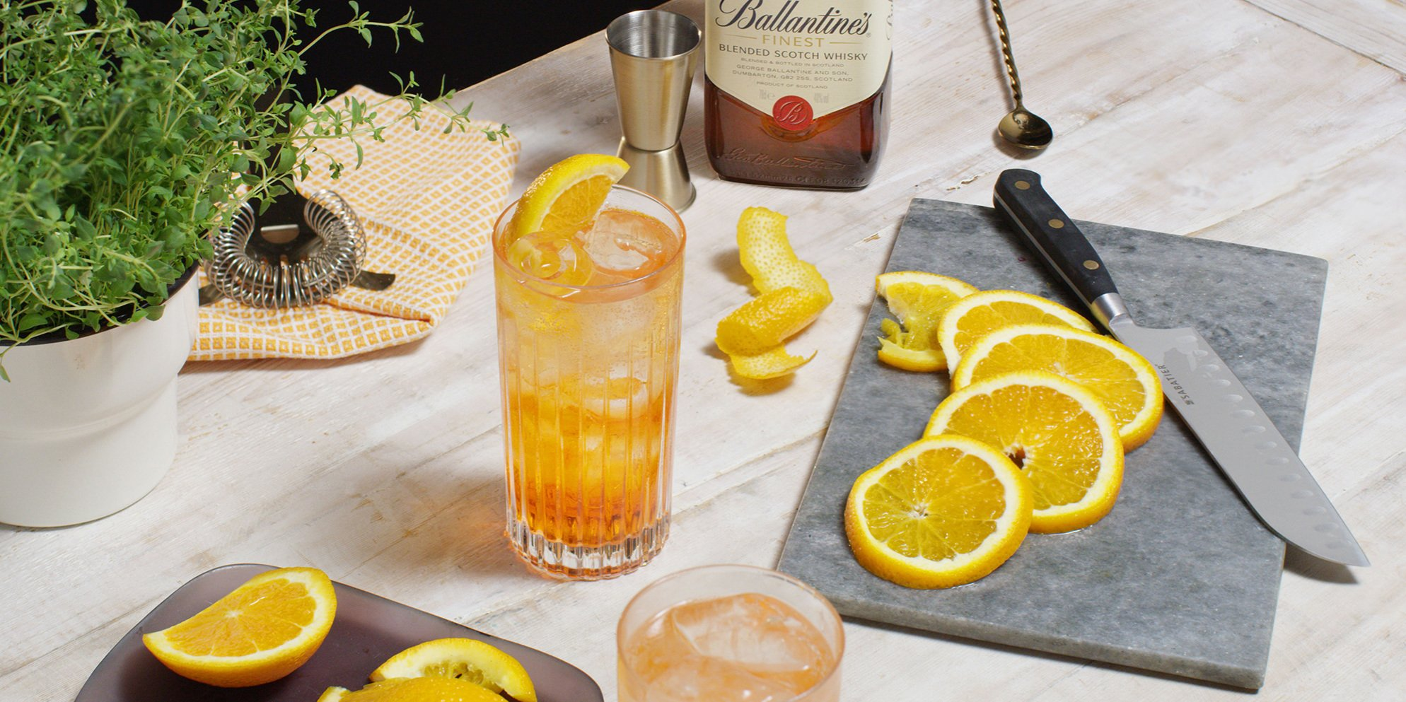Whisky Cocktails | Aperballa Spritz | Summer | Ballantine's