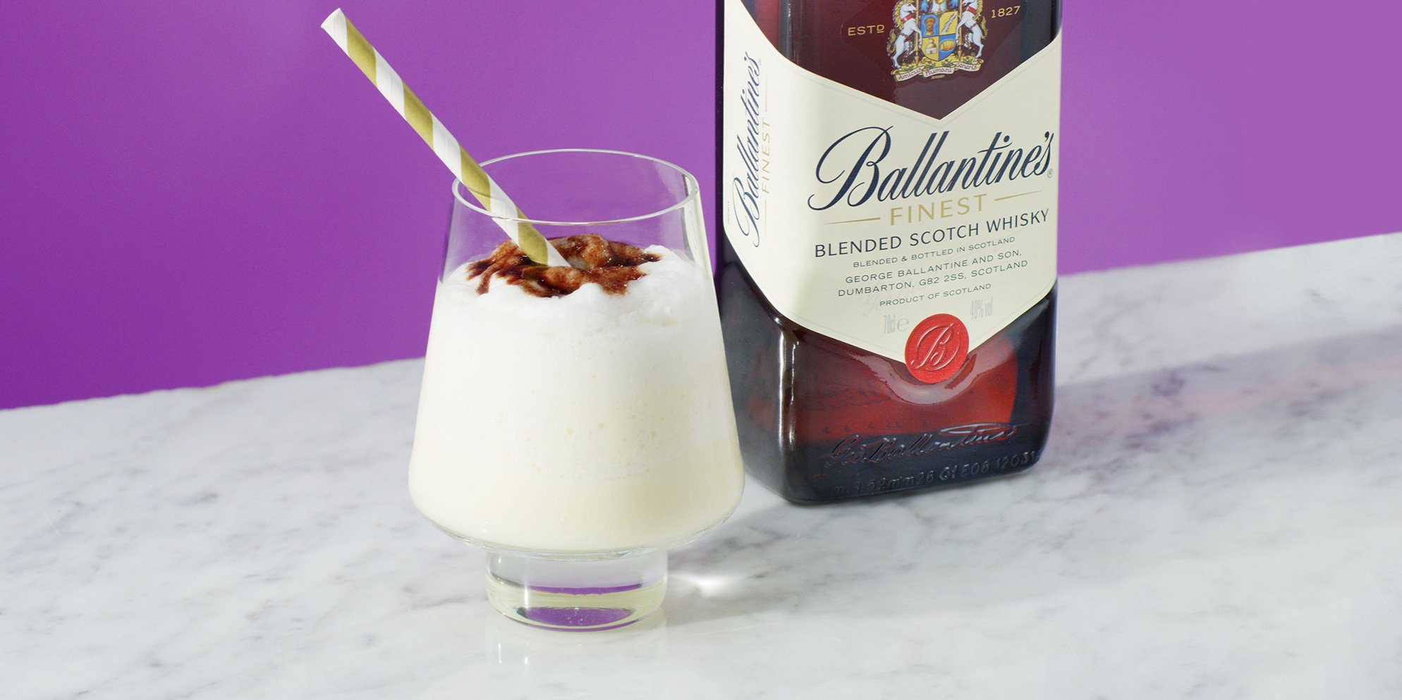 Ballantine's Whisky Vanilla Shake