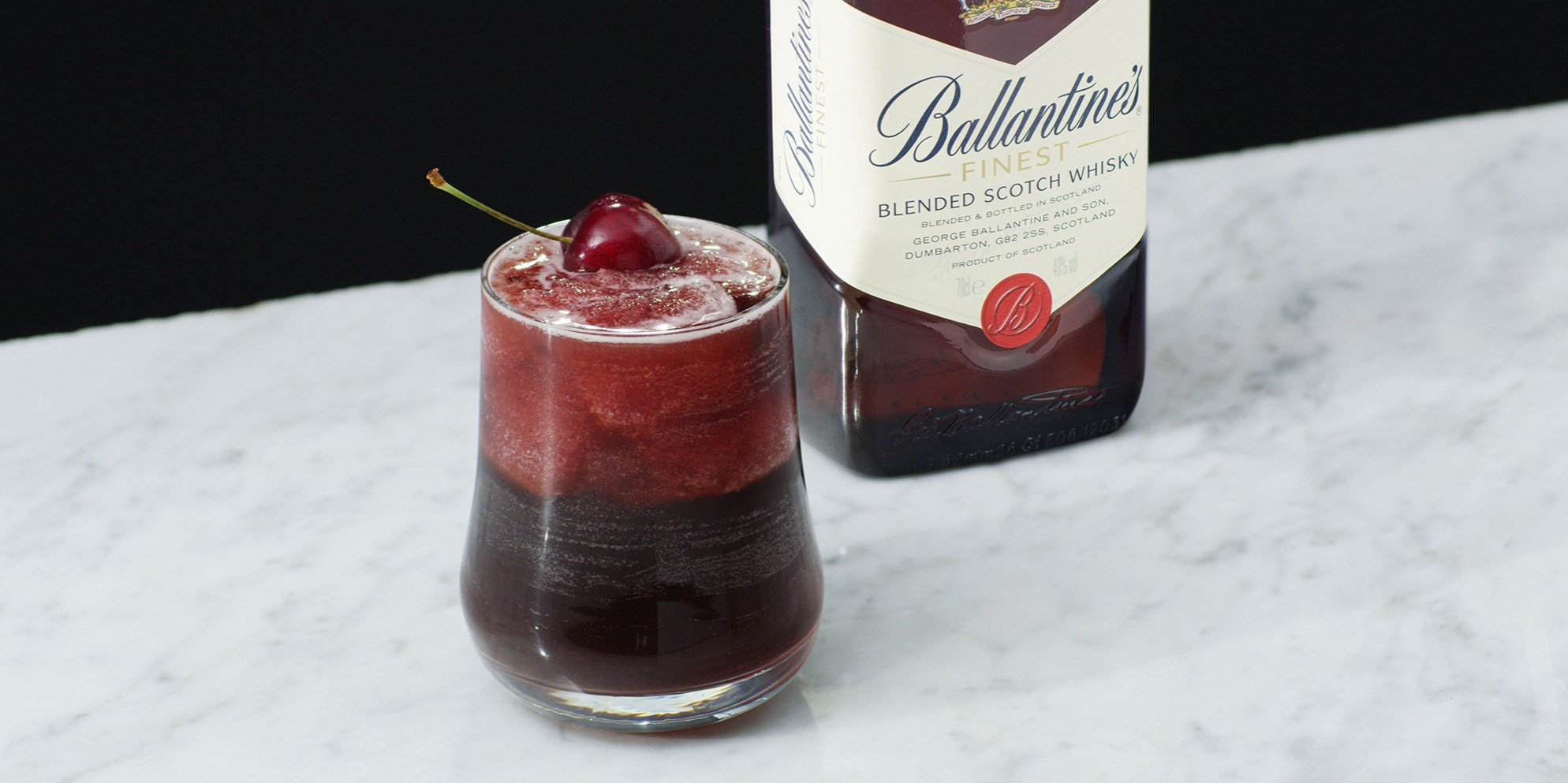 Whisky Cocktails | Rock N' Cola | Cherry | Ballantine's