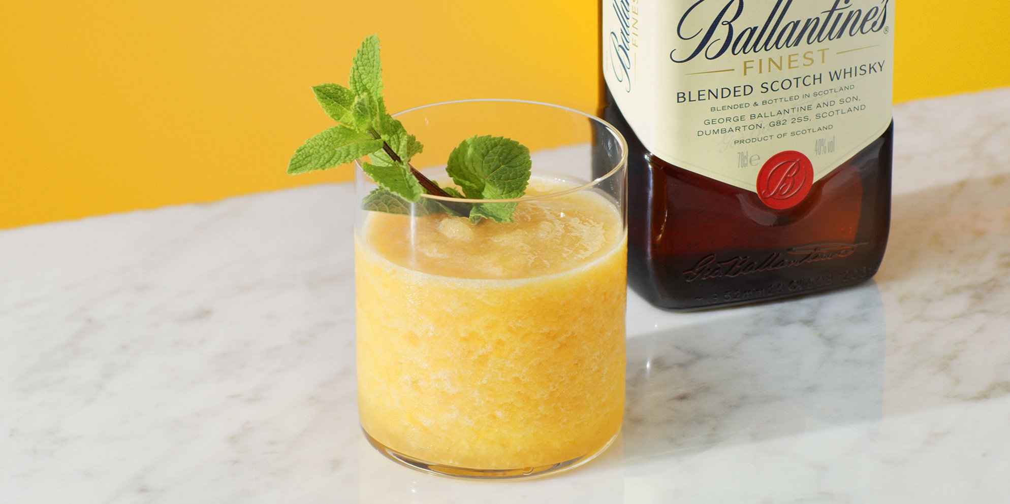 Whisky Cocktails | Ginger Peach | Spicy | Ballantine's