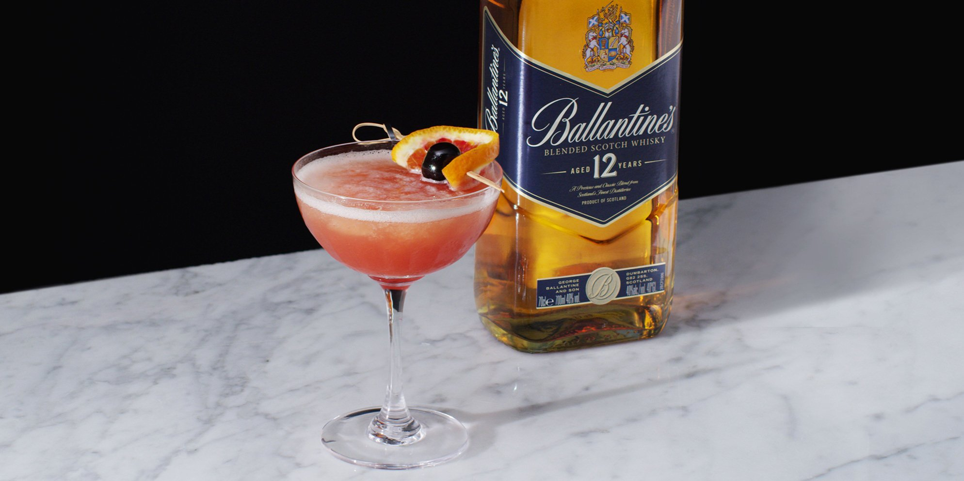 Whisky Cocktails | Frozen Blood & Sand | Sweet & citrusy | Ballantine's