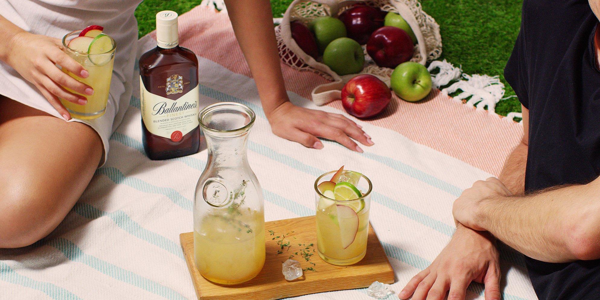 Whisky Cocktails | Pomme Thyme | Al Fresco