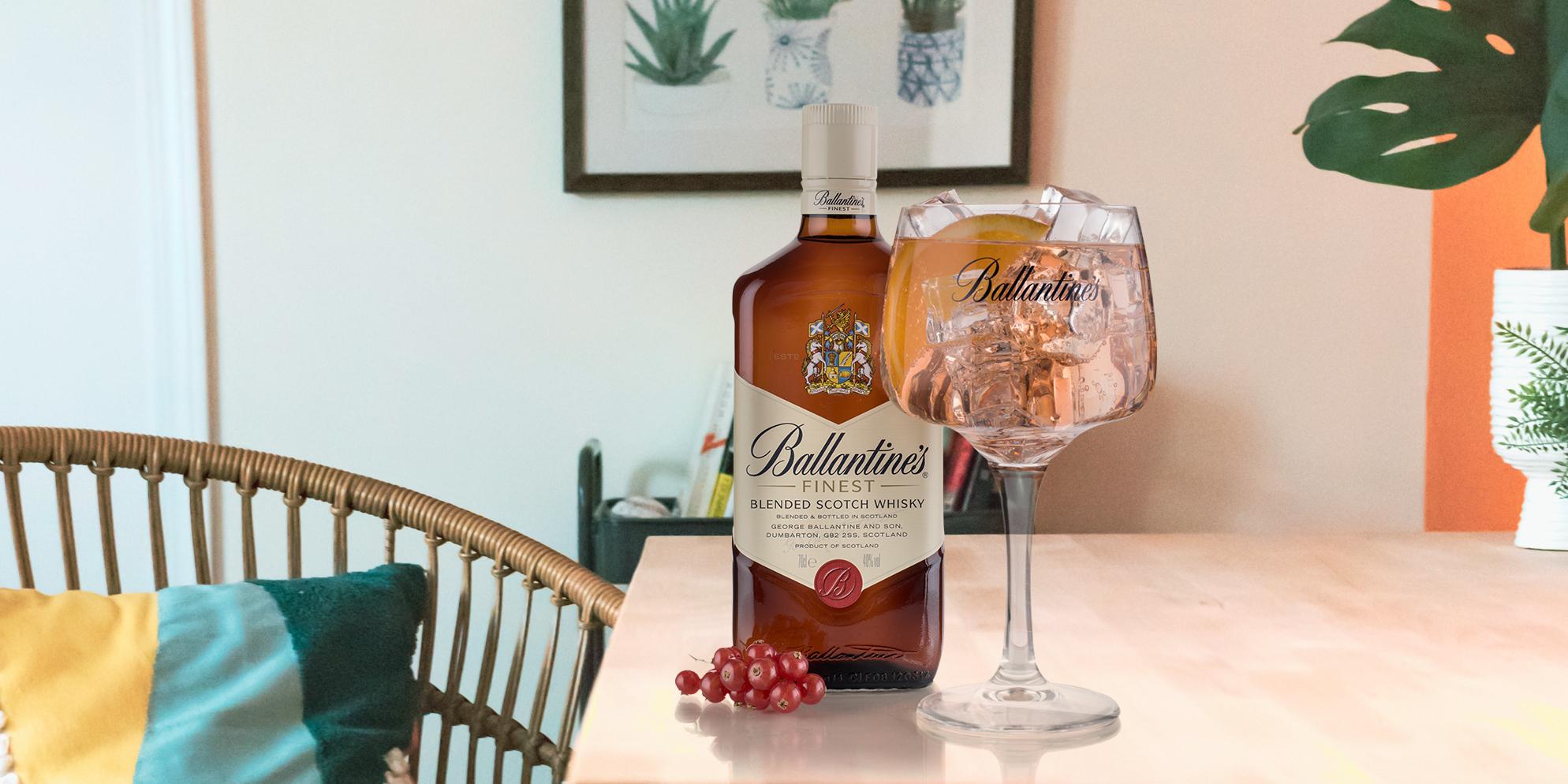 Ballantine's & Tónica Pink, el whisky-tonic