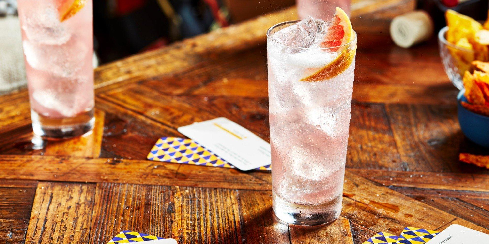 Cócteles de whisky |Finest & Grapefruit| Clásico
