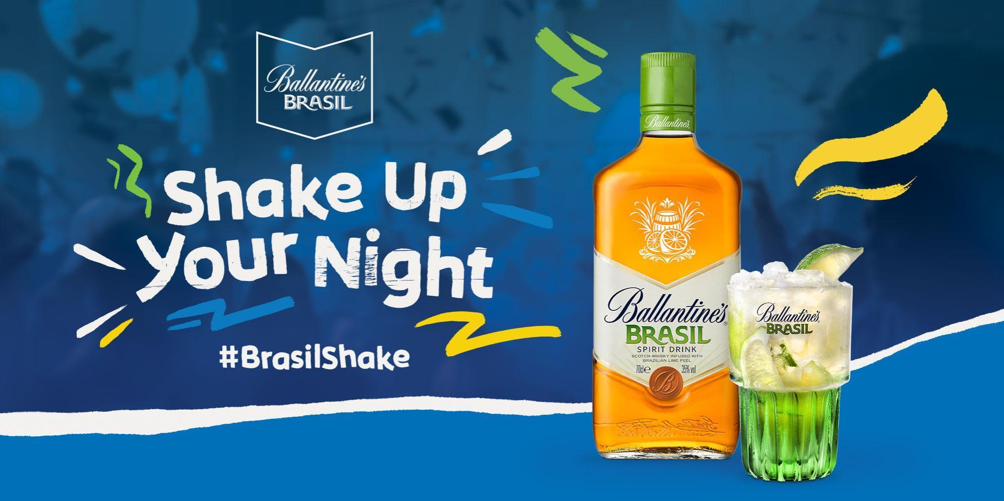 Ballantine's Scotch Whisky | Brasil Shake | Ballantine's Brasil