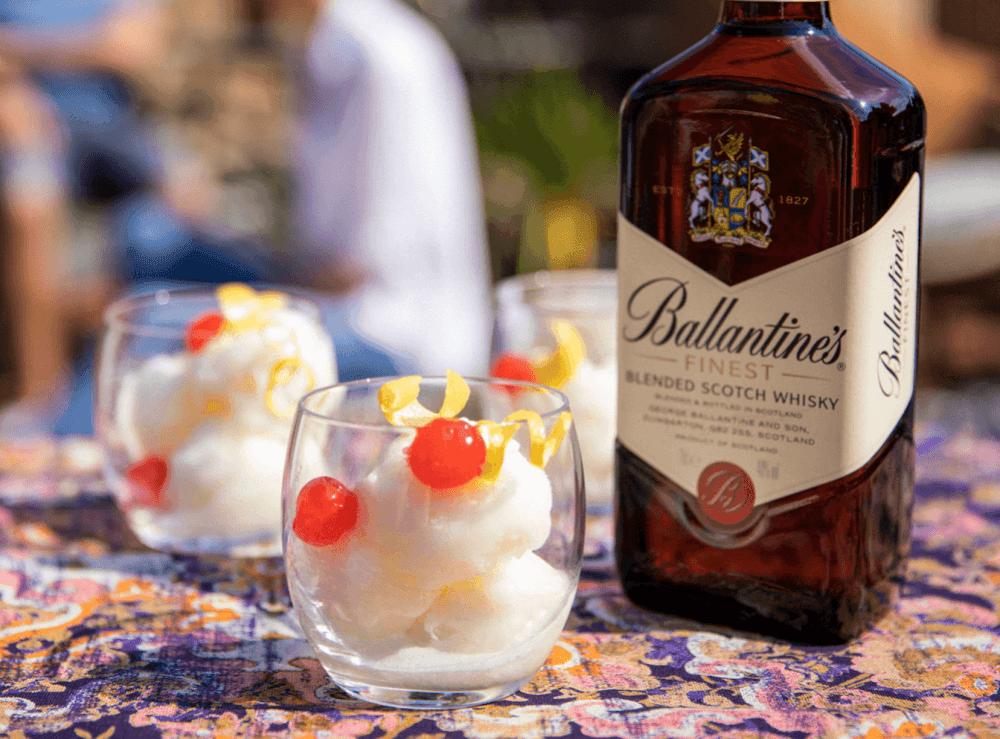 Ballantine's Sweet Whisky Cocktail Lipsmacker Sorbet