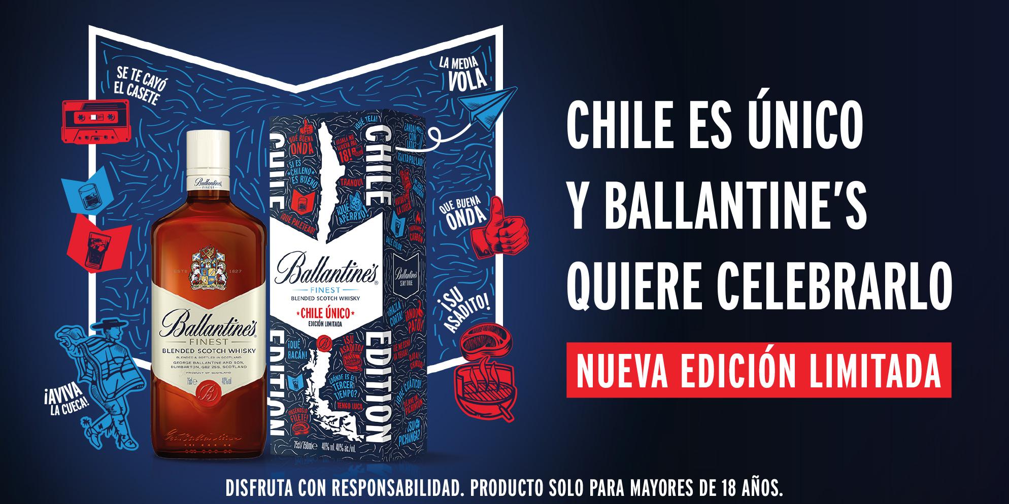 Ballantine's Chile Unico Edición Limitada