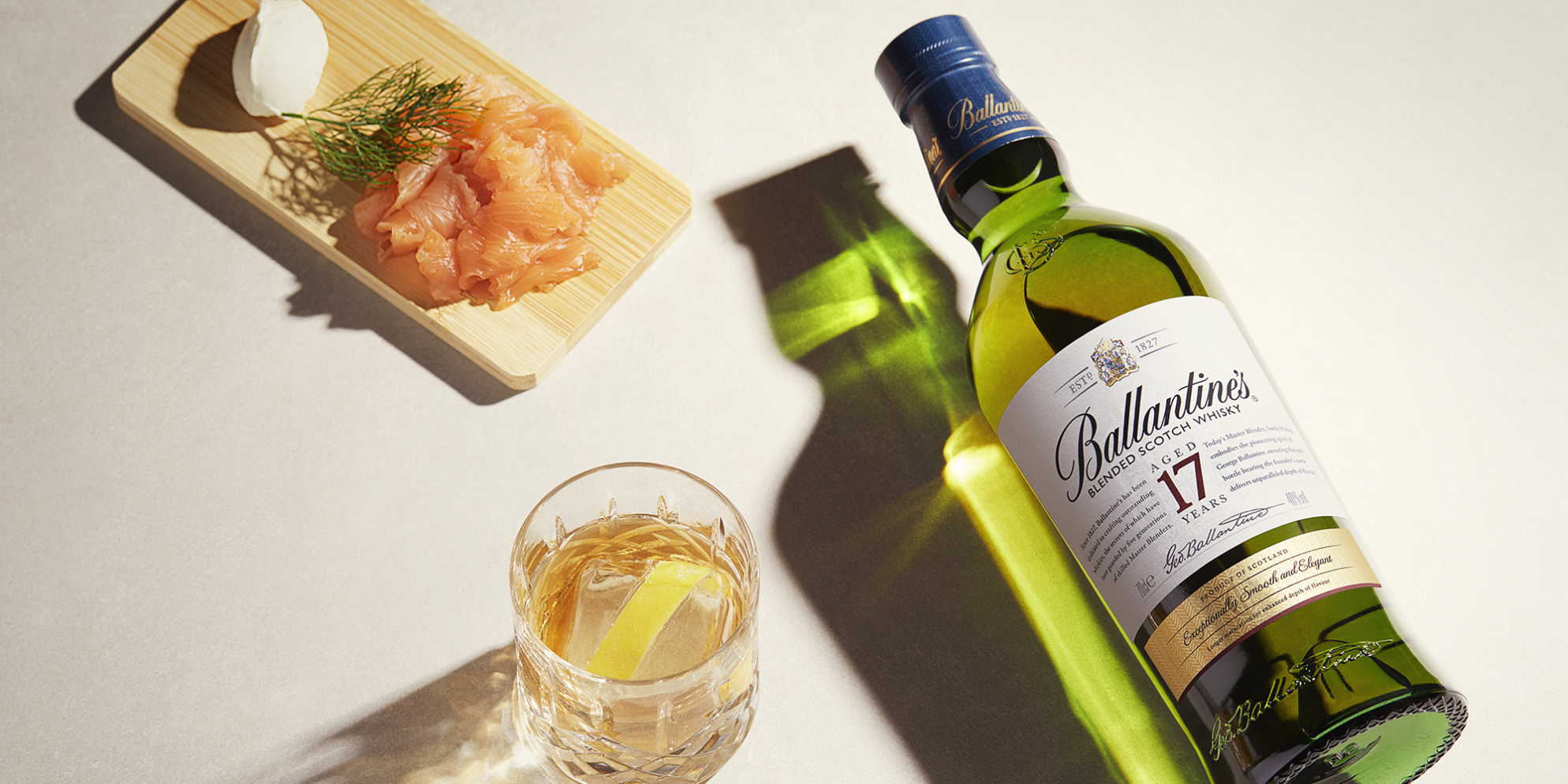 Ballantine's 17 Whisky Cocktails | Sazercac Twist | Prestige | Ballantine's